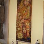 """Tekstilės darbų paroda """"Nėrinių kalba"""""""