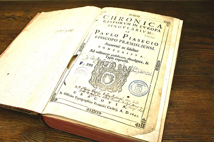Grafų Tiškevičių bibliotekos knygos, KTU biblioteka, Nuotr. G. Česonio