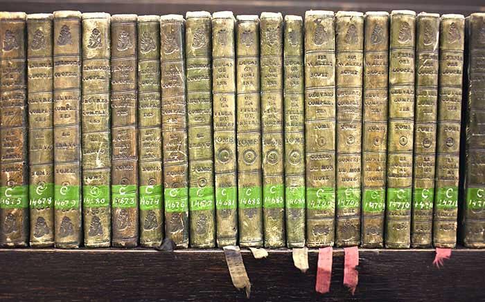 Raudondvario grafų Tiškevičių bibliotekos knygos, KTU biblioteka