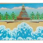 Algirdas Pakeliūnas. Mahabalipuram. 1987 m.