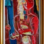 Silvestras Džiaukštas. Raudonoji mergaitė. 1969 m.
